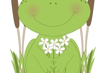 Frog Clip Art / by MyCuteGraphics