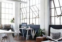 studio spaces / maker's realm / by Dianna | Soft Gold Studio