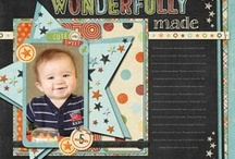 boy themes / Male Themed Scrapbook Layouts / by Brenda Rose-Johnson
