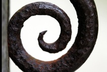Forge and Furnace / A collection of forged and cast iron / by Susan Cohan