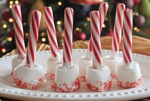 Candy Canes & Snowmen / Craft-edible recipes using these classic items. / by Tanya Brauer