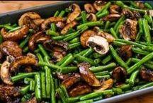 Yum!-Veggie Tales / Veggie side dishes.  / by Tanya Brauer
