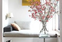 COZY CORNERS / COZY CORNER ARE NEEDED IN EVERY ROOM / by Lisa Mende Design = Interior Design