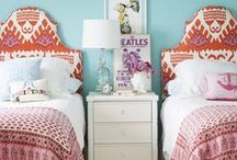 Girl's Rooms / BEAUTIFUL GIRLS ROOMS / by Lisa Mende Design = Interior Design