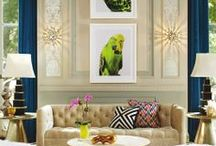 Living Rooms / BEAUTIFUL LIVING ROOMS / by Lisa Mende Design = Interior Design