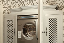 Laundry Rooms / GREAT LAUNDRY ROOMS FOR ORGANIZATION/BEAUTY / by Lisa Mende Design = Interior Design