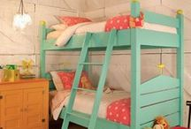 BUNK ROOMS / Cool Bunk bed ideas for kids rooms / by Lisa Mende Design = Interior Design