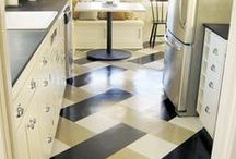 PAINTED FLOORS / PAINTED FLOOR DESIGNS THAT MAKE ME WANT TO DANCE! / by Lisa Mende Design = Interior Design