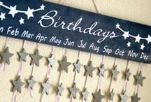 {Holidays} Birthday  / Fun birthday traditions, ways to remember birthdays, ways to celebrate and decorate, and more! / by Allie Olsen {Fab Fixes}