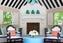Pools & Poolhouses / by Lisa Mende Design = Interior Design