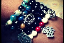 www.CharmedByJustice.com / All pieces are available for immediate purchase!  Email me at JewelrybyJustice@gmail.com or visit us at www.CharmedByJustice.com :) / by Justice Hughes