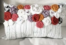 """I love """"Pillows"""" / Not just to lay your head on, or decorate with, But to also """"Admire their beauty"""" / by Anna Stigall Marcotte"""