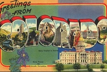 Vintage state postcards / by Corina .