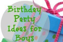 Birthday Party Ideas for Boys / by Dianna Kennedy - Kennedy Adventures