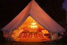 Glamping / Everything camping :-) / by Fiona Holden-Cameron
