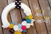 crafts- wreath love / by Kristen Perreault