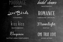 Fonts and printables  / by Liana