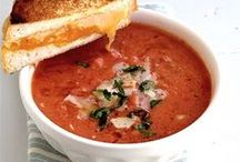 soups, stews and sandwiches / by Nancy Whitt