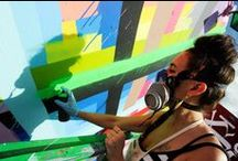 Ganstah Graffiti & Smart Street Art / by CynicalKiddo