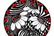 Zentangles & Doodles / by Mina