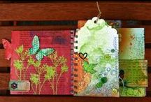 Smash'n SMASH Books / Smash books are becoming very popular and are a nice way to make a very informal scrapbook. / by Mina