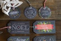 Gift TAGS...Your it! / Looking for inspirational ideas for those X-Mas gift tags and other special message tags. / by Mina