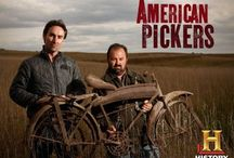 American Pickers / Love picking! Love this show! / by Cheryl Ann Dunlap