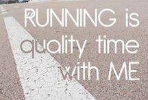 running. / by Sarah Leatherman