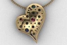 Heart Jewelry / by Karen Sandy