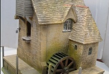 Dollshouses (see also Miniatures, Miniature Books) / Miniatures  / by Carole Blake