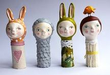 Art Dolls & Needle Felting / by Lisa Negri