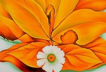 Orange, Glorious Orange - Art / by Lisa Negri