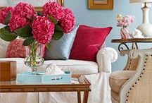 In Living Color: Living/Family Rooms of Choice / by Elizabeth