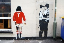 Banksy Art / by Barbara McGahey