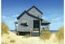 It's a Shore Thing / All the loveliness I dream of in a house by the sea / by Dara Inman