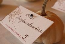 Wedding / October 18, 2013. Purple + Fall = Love! / by Nicole Zacarelli