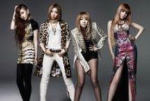2NE1 / CL, Dara, Bom, and Minzy.  / by Megan Guerrero