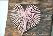 Valentine's Day ~ lots of lovies! / Tons of Valentine's Day decor, crafts and more / by Domestically Speaking