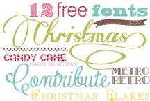 Fonts / by Domestically Speaking