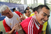 Rush in Jakarta with Garuda Indonesia  / Ian Rush hosts a special soccer clinic in Jakarta with the club's global airline partner Garuda Indonesia.  / by Liverpool FC