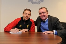 Lucas signs new deal / by Liverpool FC