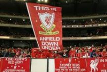 LFC in Melbourne / A selection of imges from the Reds' trip to Melbourne  / by Liverpool FC