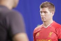 Stevie films for Xbox ad / We go behind the scenes with Steven Gerrard as he stars in the new advertising campaign for Xbox. / by Liverpool FC