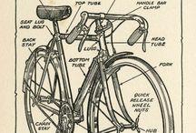 On Two Wheels / Plus or minus one wheel.  / by Jennifer Nielsen-Casas