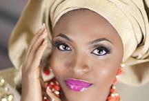 Make-up & Gele / by Nigerian Wedding