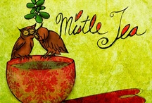 """What my #Tea says to me© / What my #Tea says to me©, began as a daily series on July 12 at popular request by Pinners and other social media. The first illustration was homage to Mick Jagger, """"I got nasty habits, I take tea at three."""" These illustrations are original and belong to Jennifer R. Cook© - Cats in the Bag design©. Cheers  / by Jennifer R. Cook"""