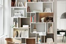 shelves & bookcases / by Brina Lip