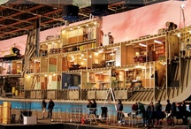 All the world's a stage / theatre sets | film sets | inspiration / by Gemma Goodwin