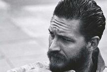 Baldwins / face / beard / fag / suit / bike  / by Gemma Goodwin