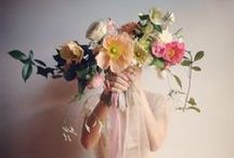 Blooms / big, beautiful, painterly, over the top / by Gemma Goodwin
